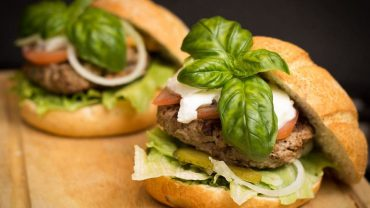 Hydroxypropyl cellulose in hamburger