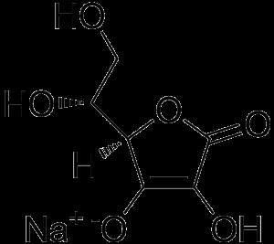 Sodium erythorbate chemical structure