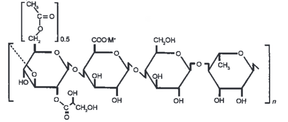 High Acyl Gellan Gum structure