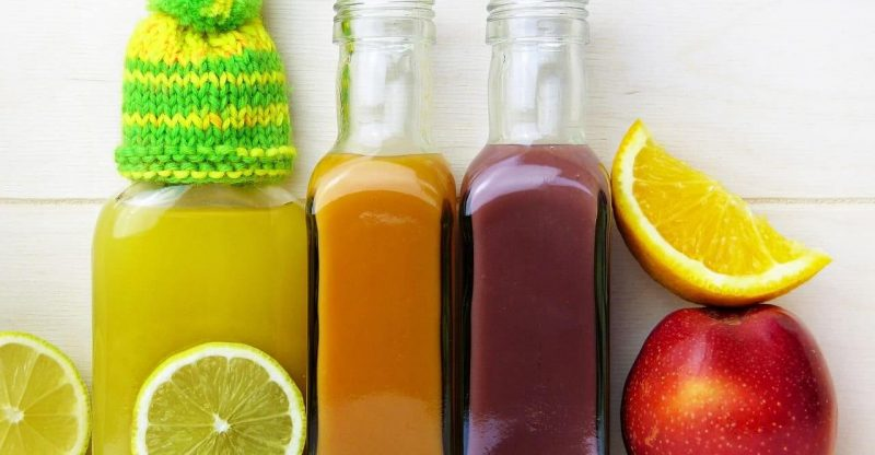 Fumaric Acid in fruit juice
