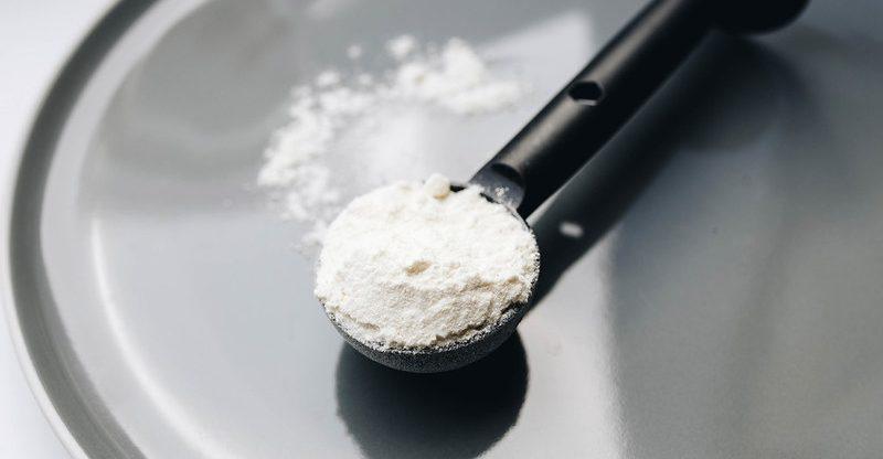 Magnesium Silicate in vanilla powder