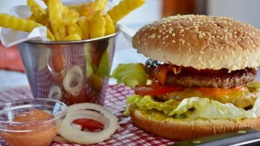 Methylcellulose in burger