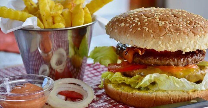 Methylcellulose in burger