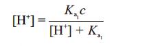 malic acid ph calculate process