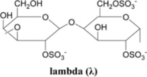 lambda carrageenan chemical structure