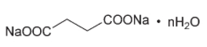 Disodium succinate chemical structure