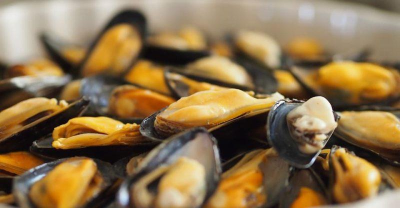 Disodium succinate in seafood