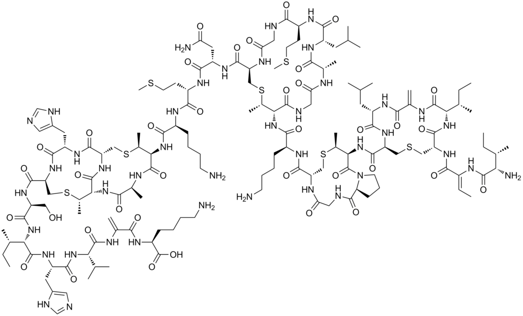 nisin chemical structure