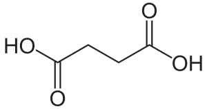 succinic acid chemical structure