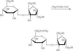 sucralose Esterification process