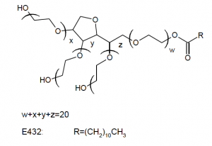 Polysorbate 20 chemical structure
