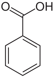 benzoic acid chemical structure
