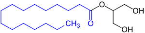 monoglycerides chemical structure