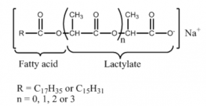 sodium stearoyl-2-lactylate chemical structure