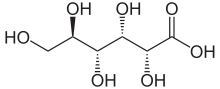 gluconic acid chemical structure