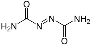 Azodicarbonamide chemical structure