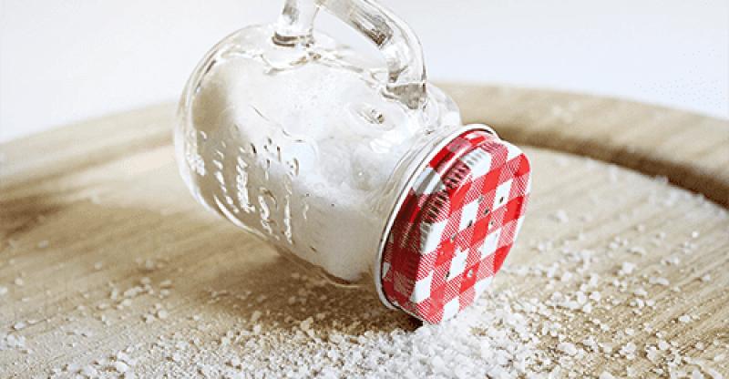 Sodium Ferrocyanide (E535) in table Salt