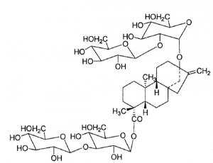 Rebaudioside E chemical structure