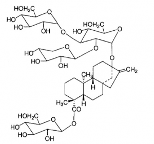 Rebaudioside F chemical structure