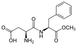 aspartame chemical structure