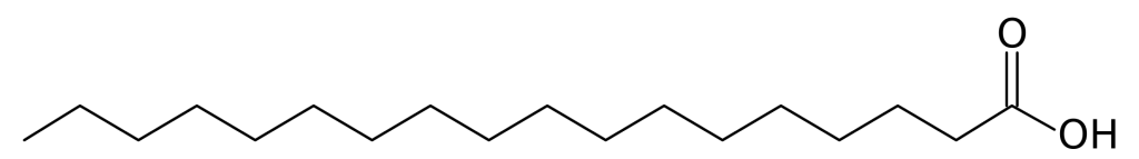 stearic acid chemical structure