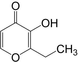 Ethyl maltol chemical structure