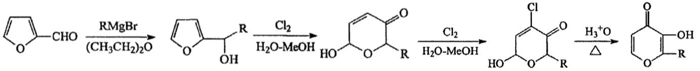 ethyl maltol manufacturing flow chart